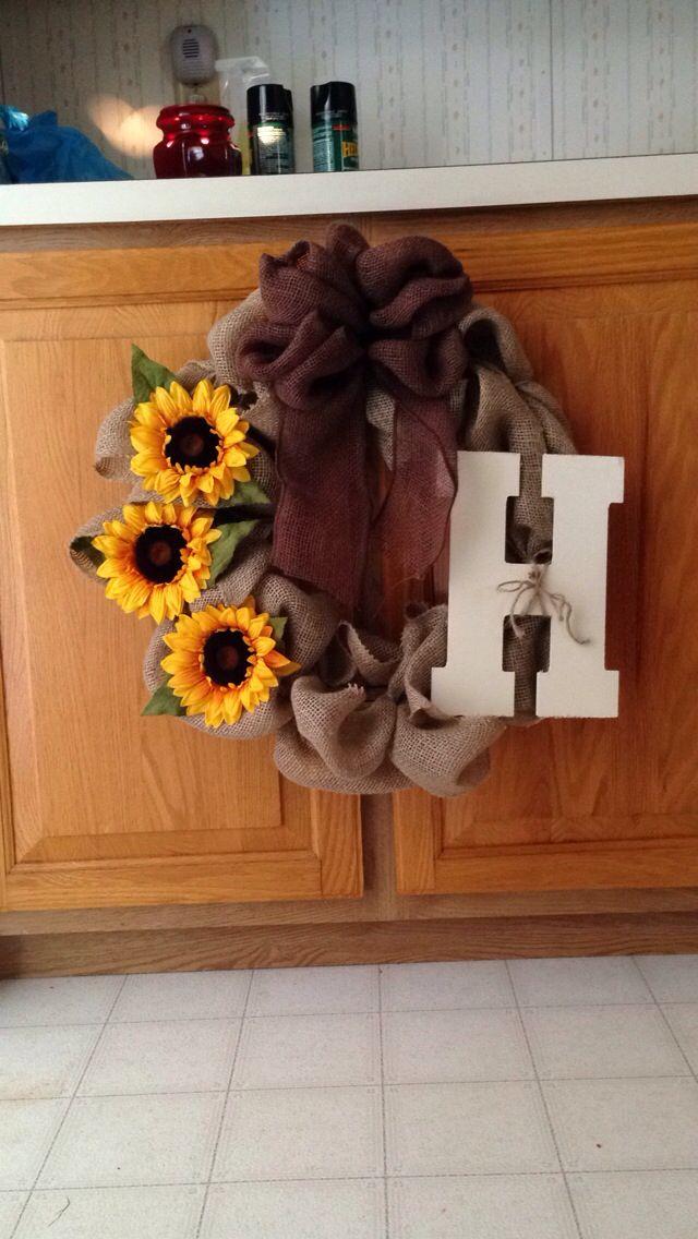 My second homemade wreath