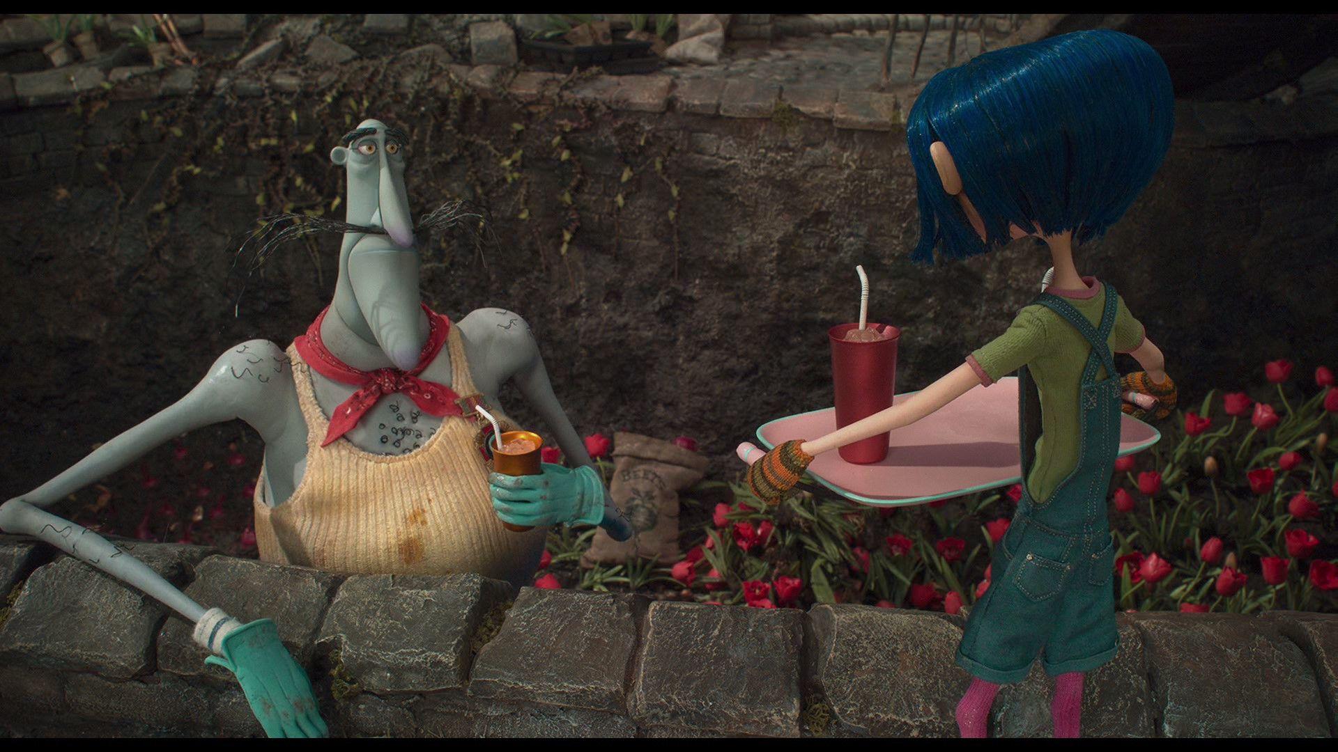 Coraline Blu Ray Teri Hatcher Dakota Fanning Coraline Coraline Jones Coraline Aesthetic