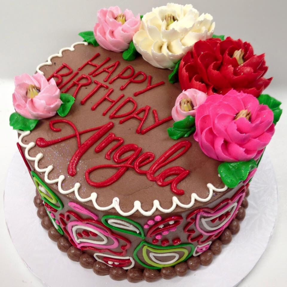 So Pretty White Flower Cake Shop Cakes And Cupcakes Pinterest