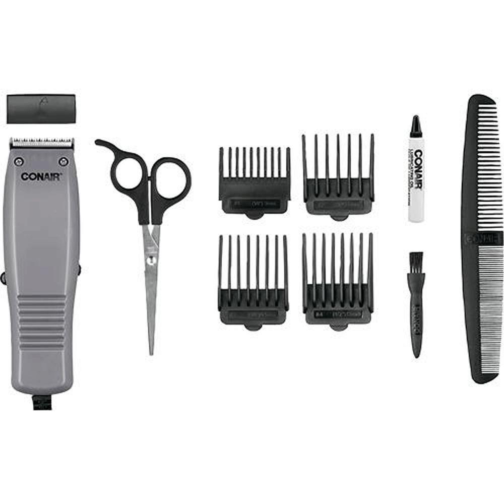 Conair Simple Cut Haircut Kit 10 Piece Design Hair Cutting Styling
