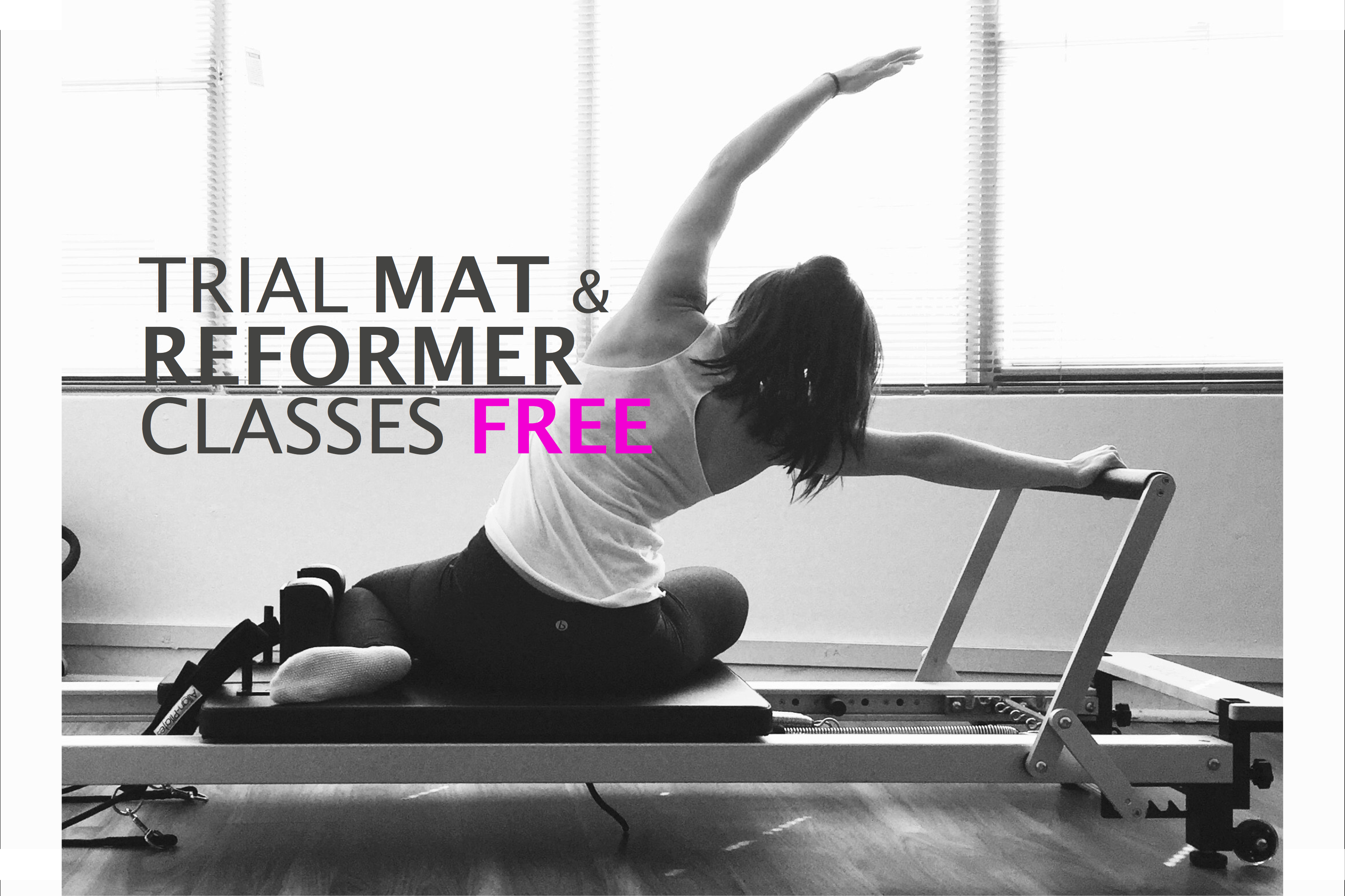 Our Group Reformer Pilates Classes up to 7