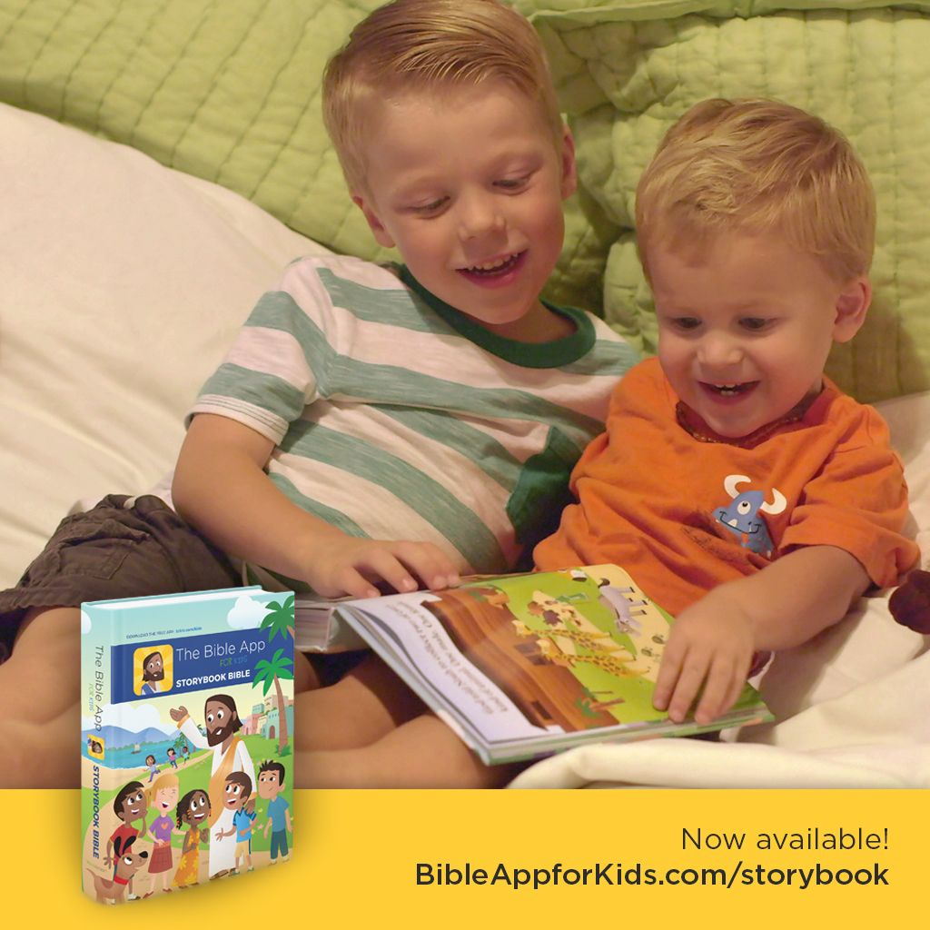 Pin by YouVersion on Bible App for Kids Kids story books