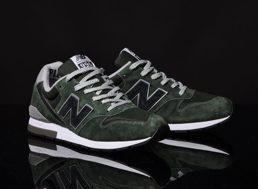 new balance 996 dark green