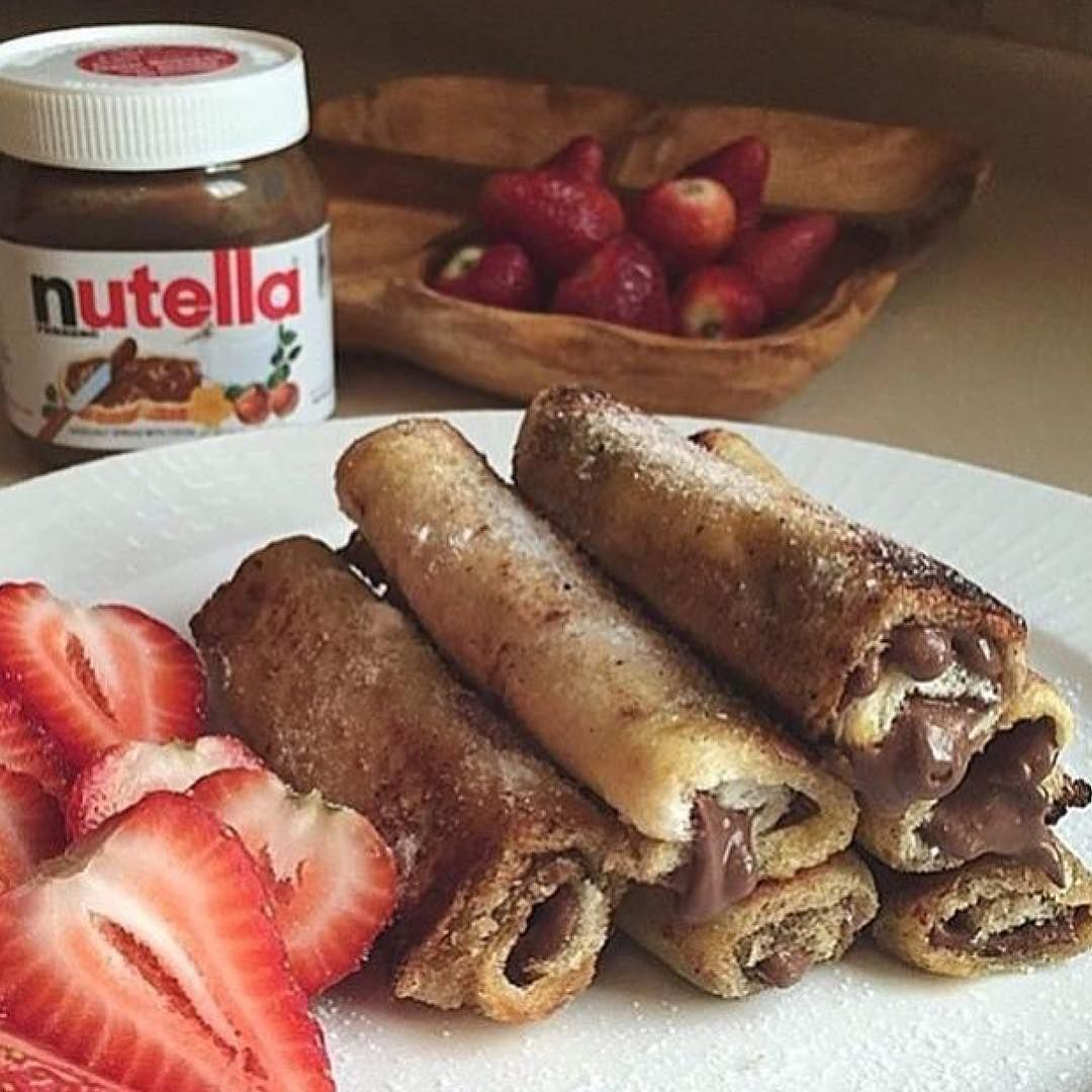 """""""Tag friends you'd share these goodness with!  @rodeoand5thfoodie #nutella"""""""