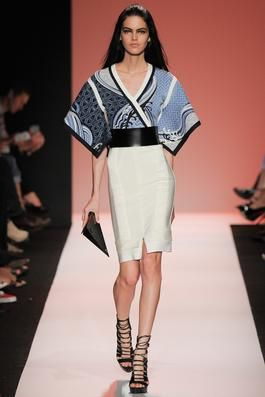 Hervé Léger by Max Azria Spring 2015 Ready-to-Wear Fashion Show: Complete Collection - Style.com