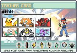 Trainer Card Maker Pokécharms Cards Card Maker Cool Pokemon Cards