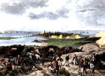 The Battle of Charleston was one of the major battles which took place toward the end of the American Revolutionary War.