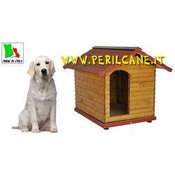 Cuccia Per Cani In Legno Chalet 4 Per Pastore Tedesco Labrador E