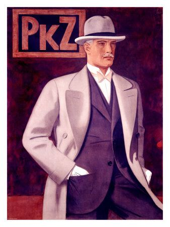 The men in the 20s still more the 3-peice suit from the ...