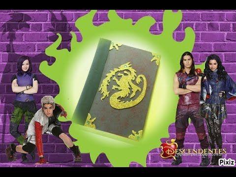Los Descendientes- LIBRO DEL MAL decoración de libreta -The descendants BOOK OF EVIL - YouTube