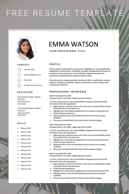 modern resume template download for free academic cv phd application word format 2018 sample applying job