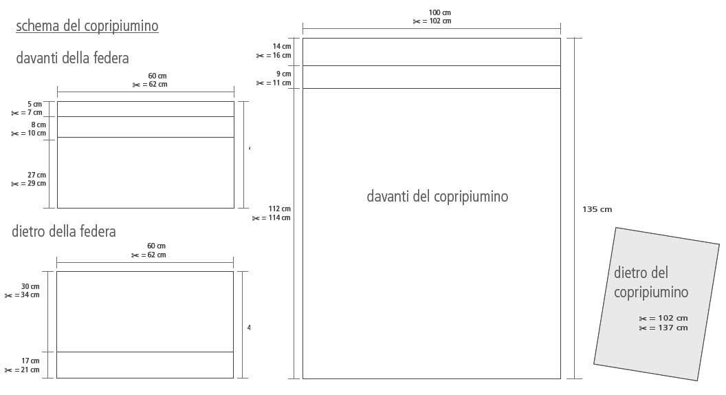 Copripiumino Dimensioni.Completo Copripiumino Per Lettino Ricamato Mez Cucirini