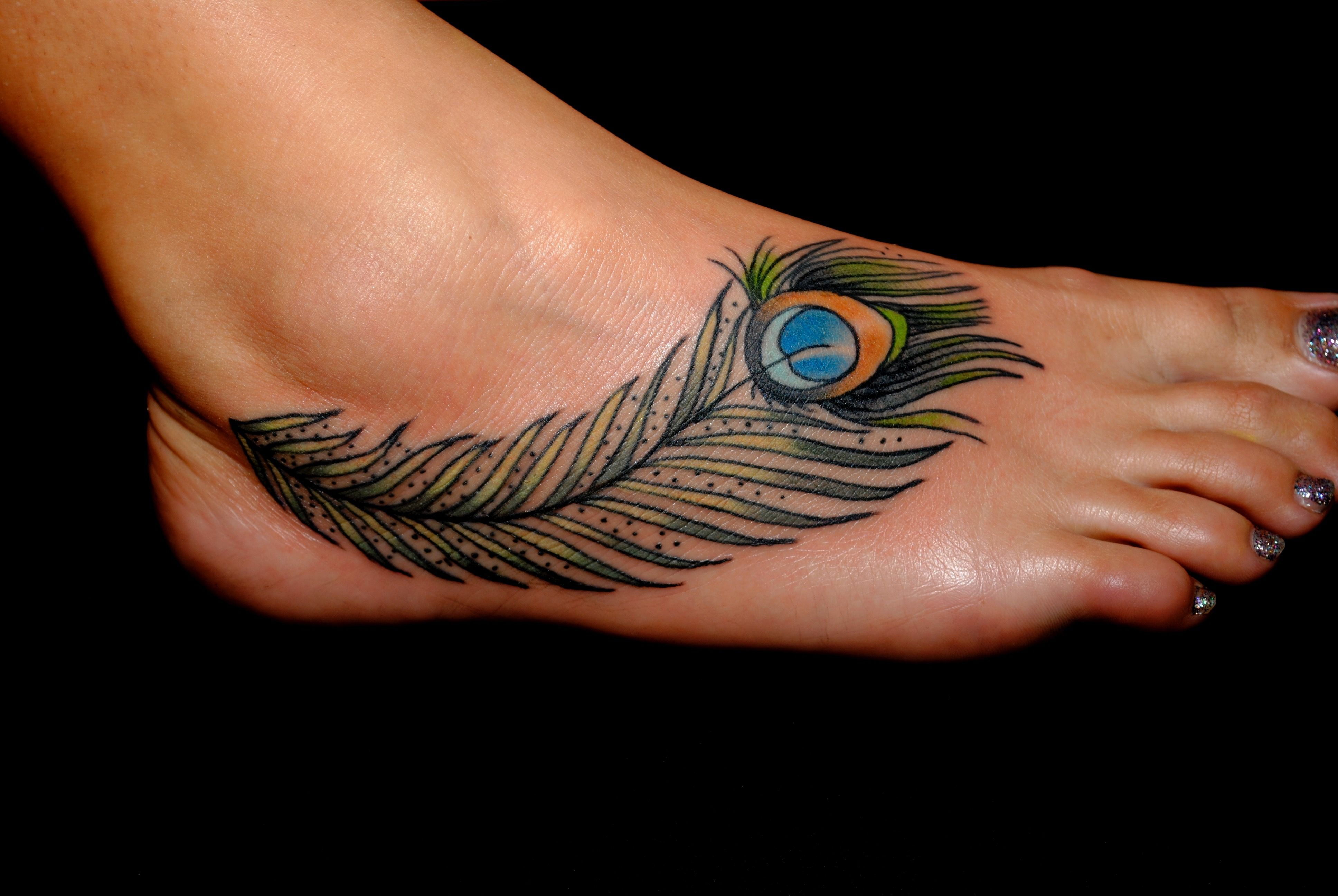 Pin by Tani on Tattoos Feather tattoo meaning, Peacock
