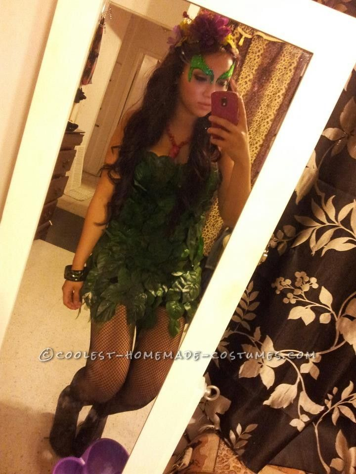 Quick and Easy Poison Ivy Costume Poison ivy costumes, Ivy costume - quick halloween costumes ideas