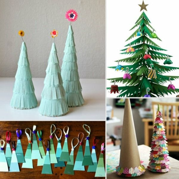 weihnachtsbaum papier ausschneiden girlande basteln weihnachten pinterest girlanden. Black Bedroom Furniture Sets. Home Design Ideas