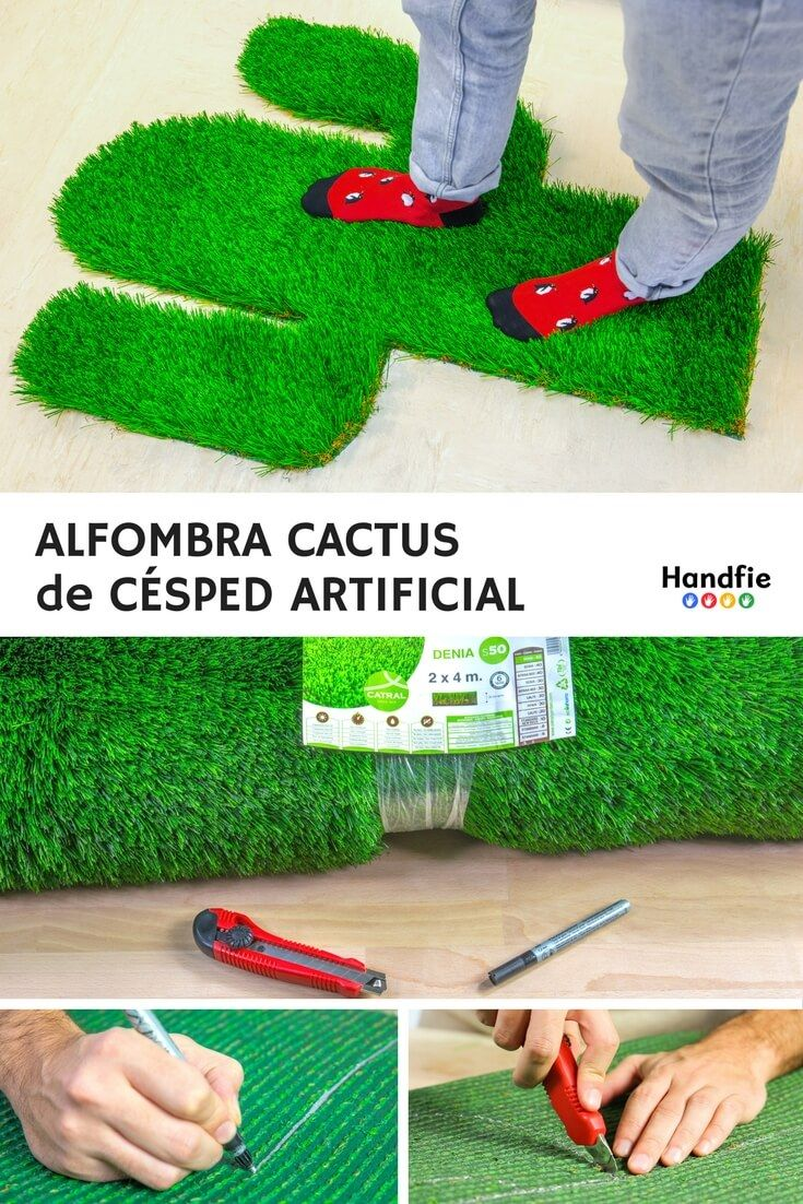 alfombras de césped artificial | ideas de decoración | pinterest