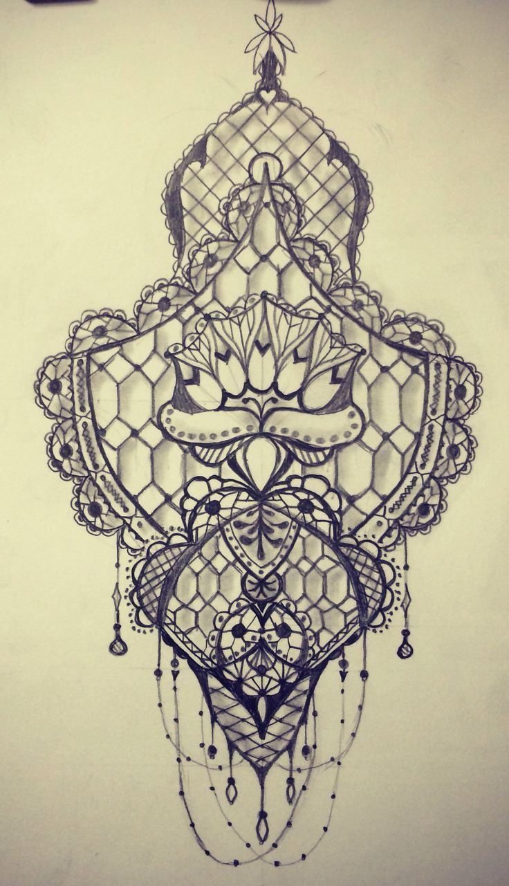 74 delicate lace tattoo designs | lace tattoo, tattoo and lace