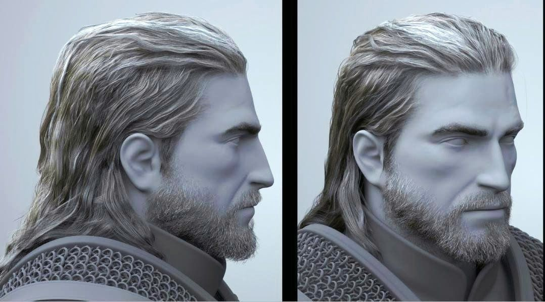 Pin By Abubakr Tariq On Cg Hair The Witcher Witcher Art