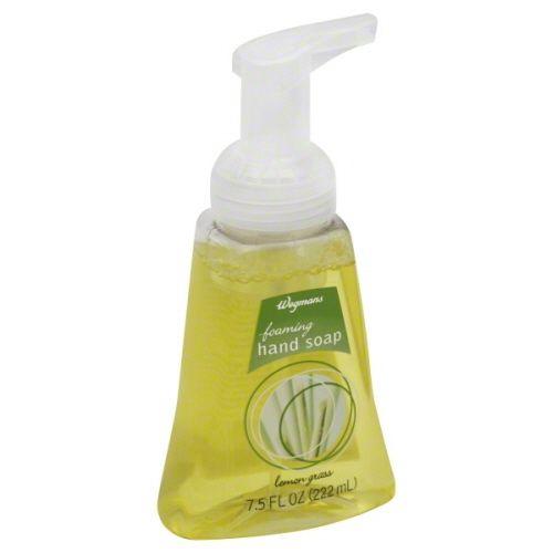 Wegmans Lemongrass Foaming Hand Soap