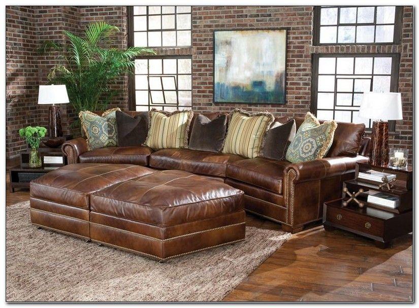 Leather Sofa Pit Group Leather Sofa Home Decor Sofa