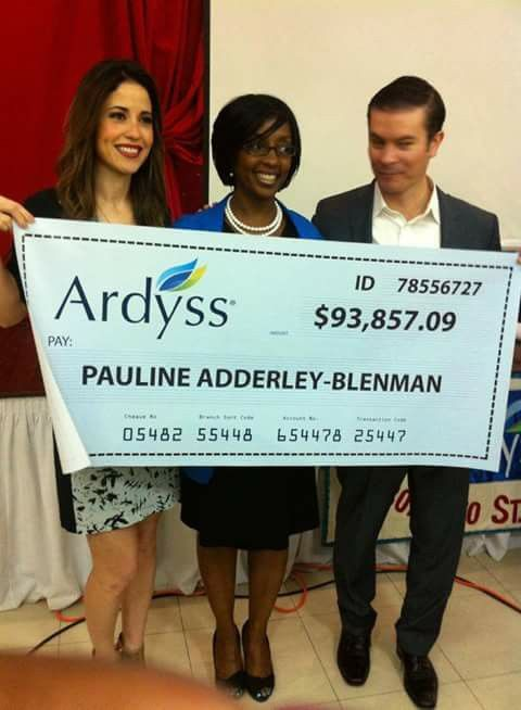 Ardyss is changing bank accounts and helping those who are sick and  need to lose weight !