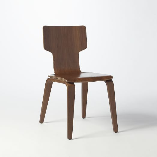 Wood chairs · Stackable Chair  West Elm