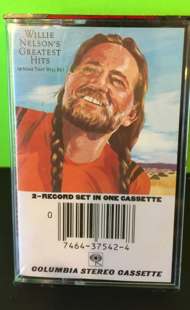 Vintage Willie Nelson's Greatest Hits and Some That Will Be Cassette New | eBay
