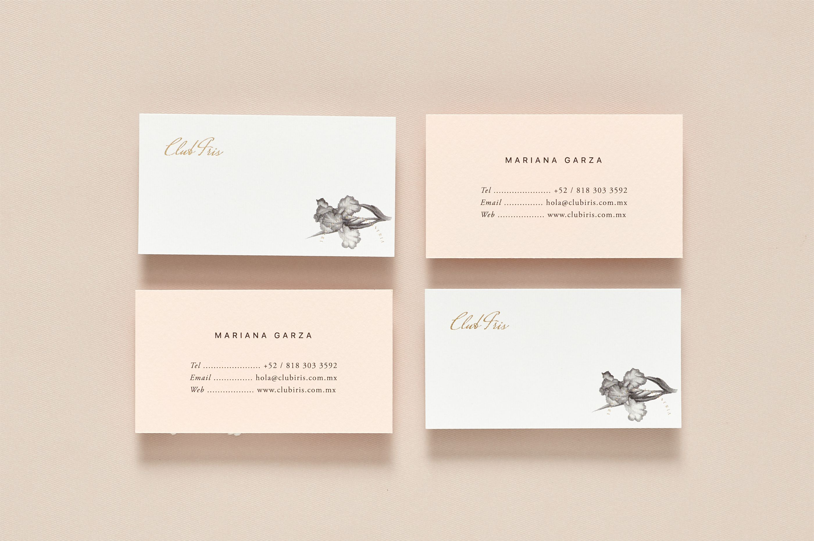 Club Iris on Behance | Business Cards | Pinterest | Iris, Business ...