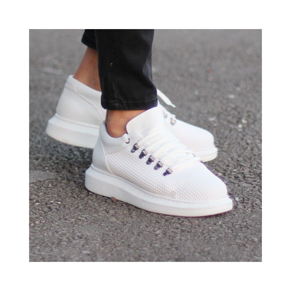 2348122b386 Buy Men s Casual Shoes With Hole Pattern White at Martin Valen. Discover  men s street fashion.