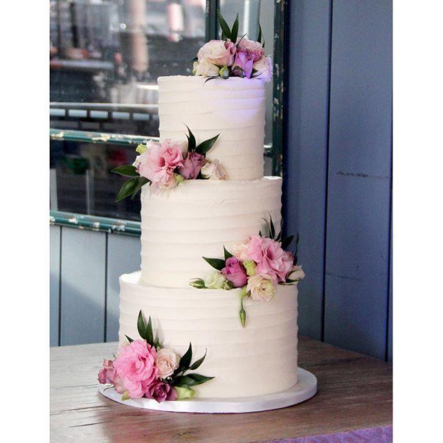 Lovely 3 Tier Buttercream Wedding Cake Mariannewhite: Love Rosie Cakes (@loverosie_cakes) • Instagram Photos And