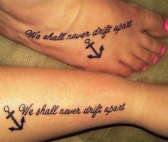 45 CREATIVE BEST FRIEND TATTOO INSPIRATIONS | Cousin tattoos ...