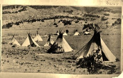 Photo of American Indian's History: Photos of the Apache Village in Tularosa Canyon, New …
