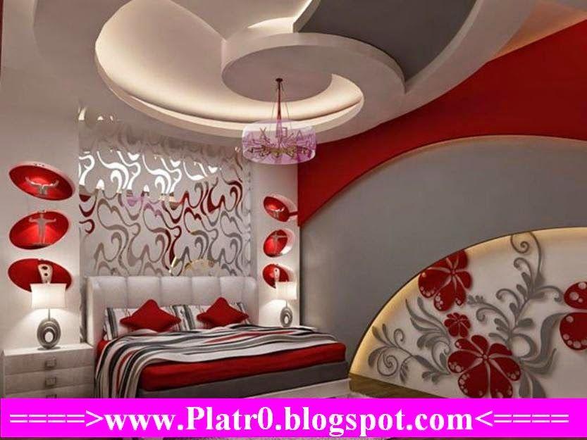 Chambre Coucher 2015+ Faux Plafond Moderne | faux plafond en ...