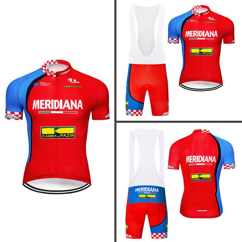 Men 2018 Team Riding Clothing Jersey Cycling Bib Shorts Set Bicycle Short  Sleeve ec83d4a72