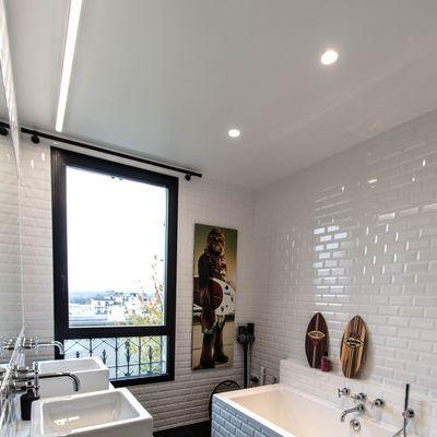 Déco murale de salle de bains  des idées pour s\u0027inspirer