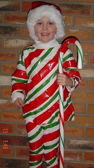 7 DIY Halloween Costumes for Kids. Sweatsuit Costumes Photo Gallery Candy Cane Sweatsuit Costume  sc 1 st  Pinterest & 7 DIY Halloween Costumes for Kids | Candy cane costume and Costumes