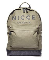 7e24b1447862b9 Nicce London Logo Backpack