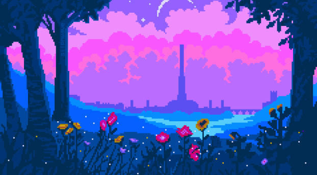 1242x2688 Cyrodiil Pixel Art Iphone Xs Max Wallpaper Hd Artist 4k Wallpapers Images Photos And Background In 2020 Pixel Art Background Art Wallpaper Pixel Art
