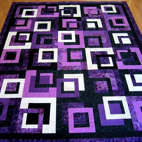 Simple Modern Quilt Patterns Free : Outside the Box Quilt quilts Pinterest Box, Patterns and Patchwork