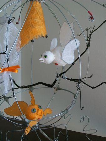 un petit poisson un petit oiseau luminaire ambiance d co pinterest petit poissons. Black Bedroom Furniture Sets. Home Design Ideas