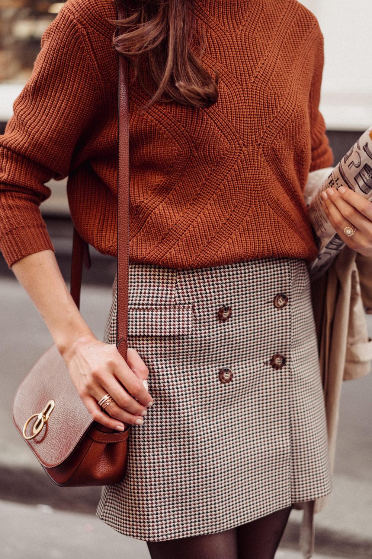 Comment je porte la slingback en automne sans avoir froid — Mode and The City