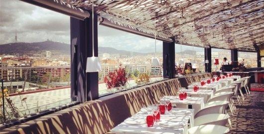 La Lola De Las Arenas Barcelona Restaurants Restaurant Pergola