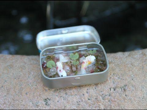Polymer Clay and Resin Tutorial: Koi Pond in a Tin  https://www.youtube.com/watch?v=hf0Z9CJAJX0