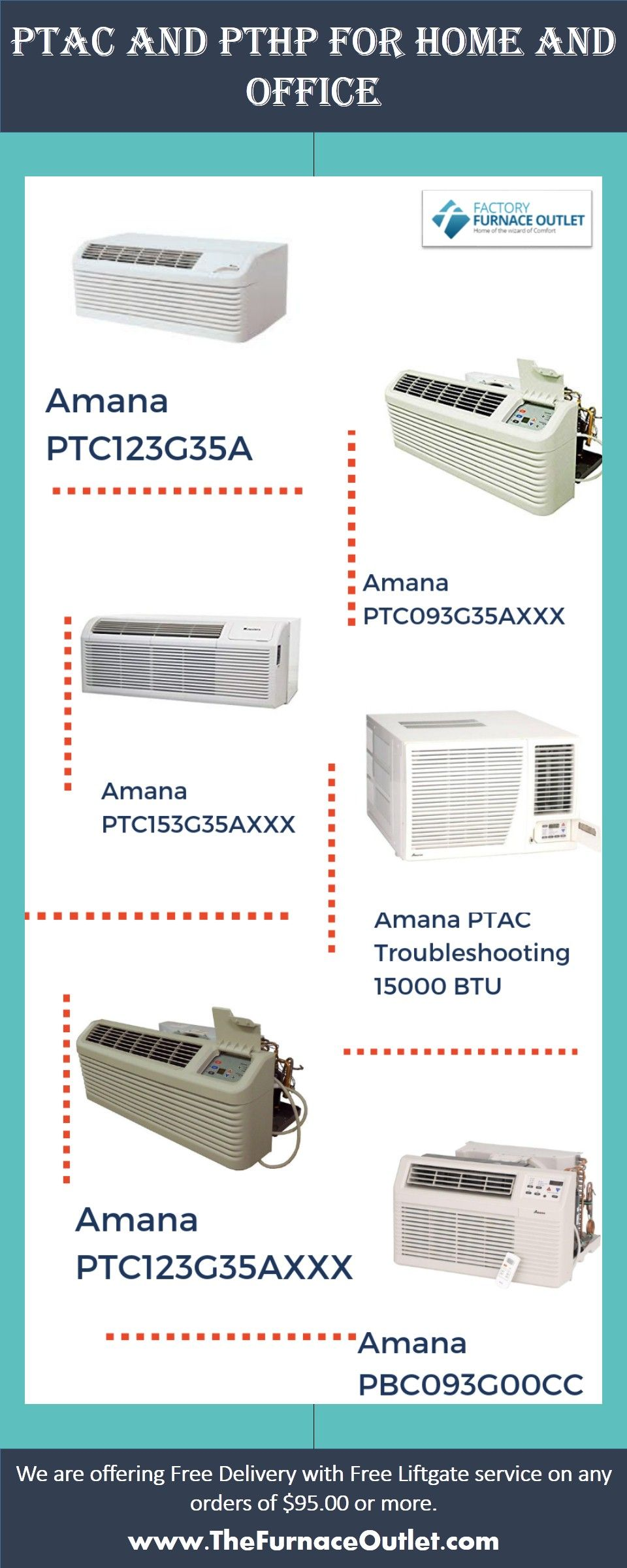 Ptac And Pthp For Home And Office Furnace Goodman Furnace Outlet