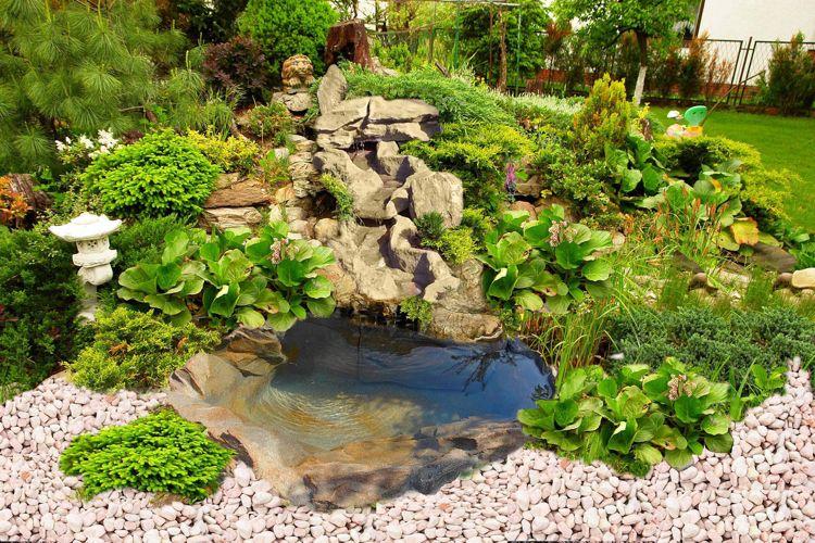 Faire un bassin de jardin 30 id es fantastiques for Galets jardin castorama