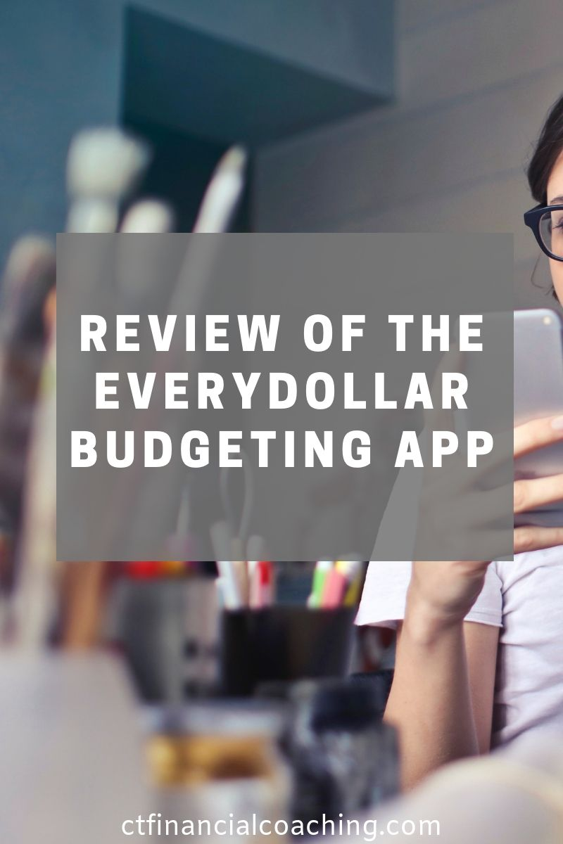 Review of the EveryDollar Budgeting App Budgeting