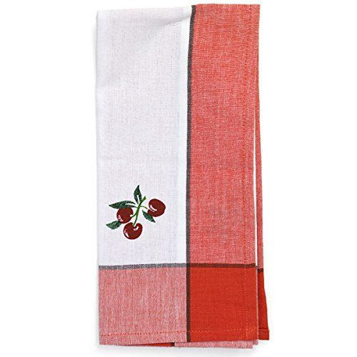 Red Classic Cherry Kitchen Towel The Red & White Kitchen Cohttp Amusing Kitchen Towel Design Decoration