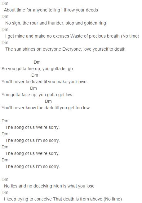 Im So Sorry\