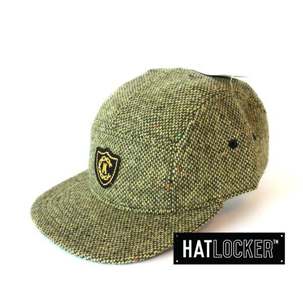 976cf42cebbc3 Olive Speckle Woven 5 Panel by Crooks   Castles