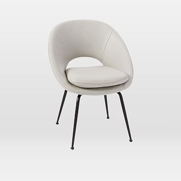 orb leather dining chair products dining chairs contemporary rh pinterest com